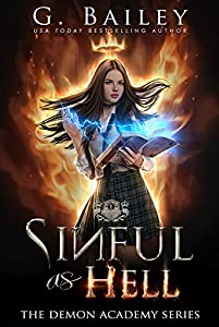 Sinful as Hell (The Demon Academy #1)
