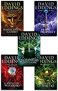 The Belgariad Series 5 Books Collection Set By David Eddings