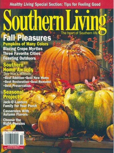 Southern Living October 2016