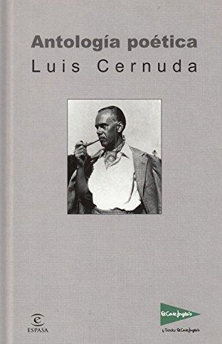 Antología Poética Luis Cernuda Luis.- CERNUDA