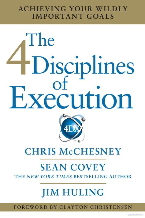 The-4-Disciplines-of-Execution-Achieving-Your-Wildly-Important-Goals