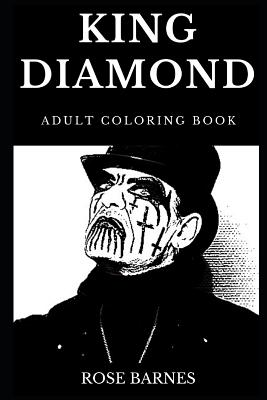 King Diamond Adult Coloring Book: Legendary Mercyful Fate ...