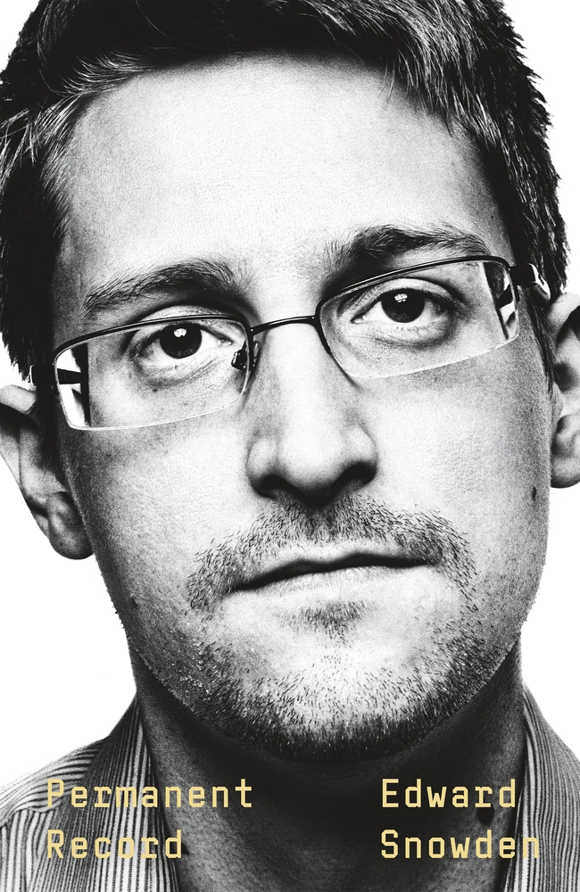 Cover for Permanent Record, by Edward Snowden