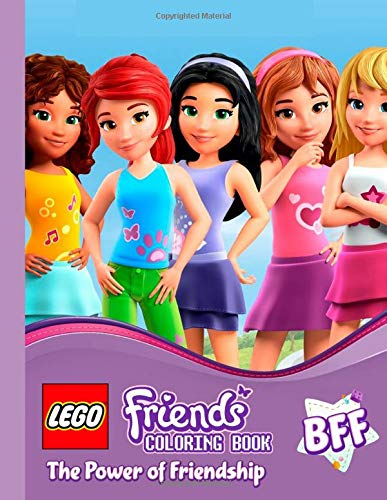 LEGO Friends Coloring Pages - GetColoringPages.com | 500x387