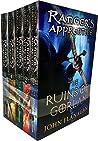 John Flanagan Rangers Apprentice Series 1 Collection Set 5 Books Set (Book 1-5)