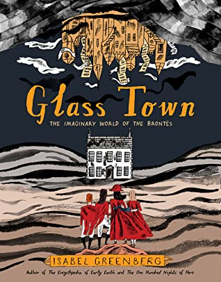 Glass Town cover by Isabel Greenberg