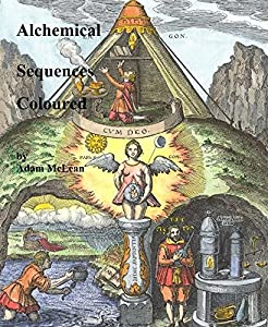 Alchemical Sequences Coloured by Adam McLean