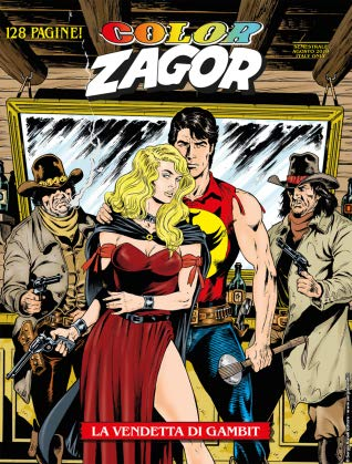 Color Zagor n. 9 by Jacopo Rauch