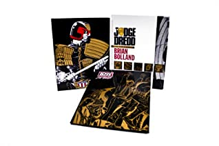 JUDGE DREDD: THE COMPLETE BRIAN BOLLAND RED LABEL LIMITED EDITION HC