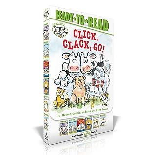 Click, Clack, Go!: Click, Clack, Moo; Giggle, Giggle, Quack; Dooby Dooby Moo; Click, Clack, Boo!; Click, Clack, Peep!; Click, Clack, Surprise!