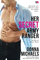 Her Secret Army Ranger (The Men of At-Ease Ranch, #2)