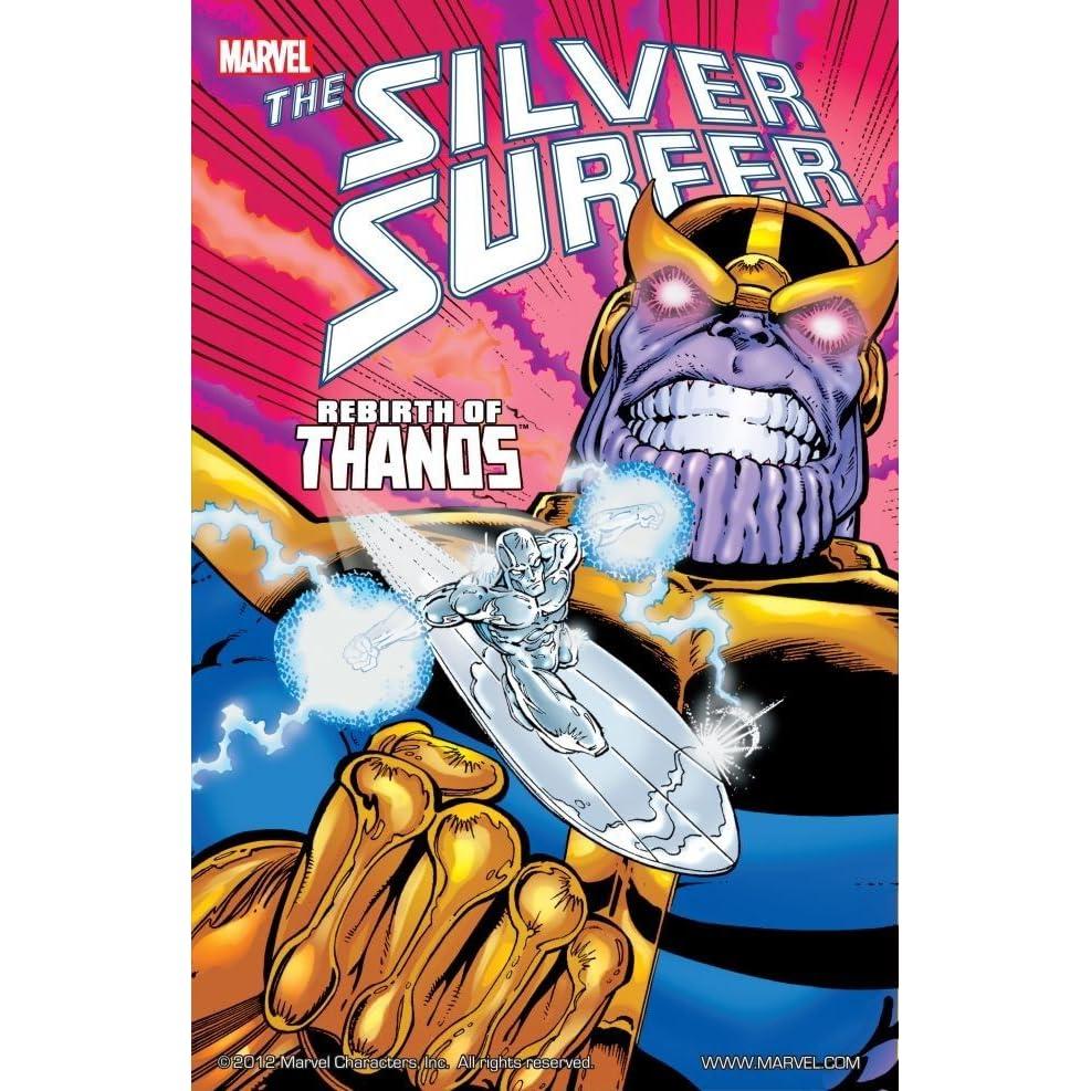 Silver Surfer: Rebirth of Thanos by Jim Starlin
