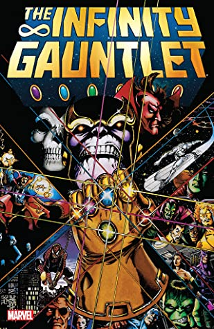 "Cover of Marvel's ""the Infinity Gauntlet"" comic."