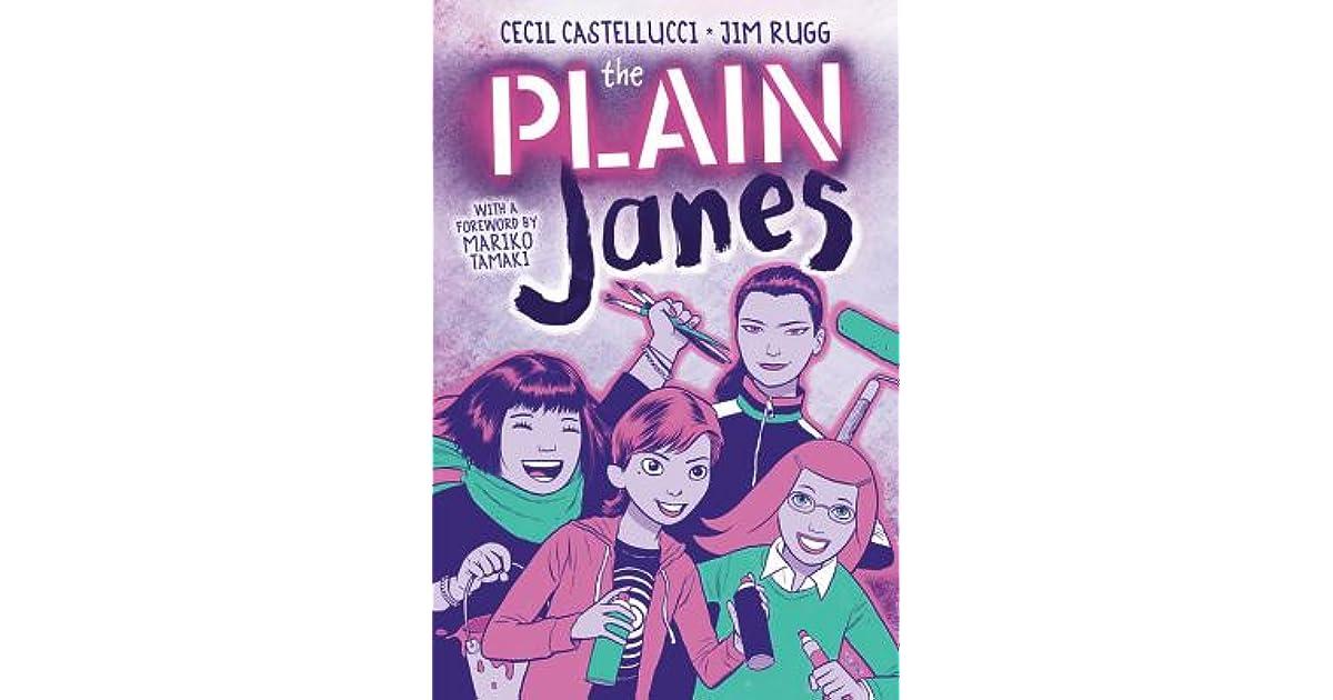 The Plain Janes Janes 1 By Cecil Castellucci