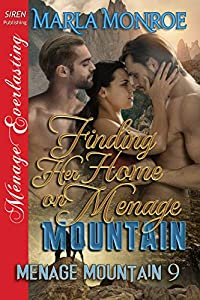 Finding Her Home on Ménage Mountain (Ménage Mountain, #9)