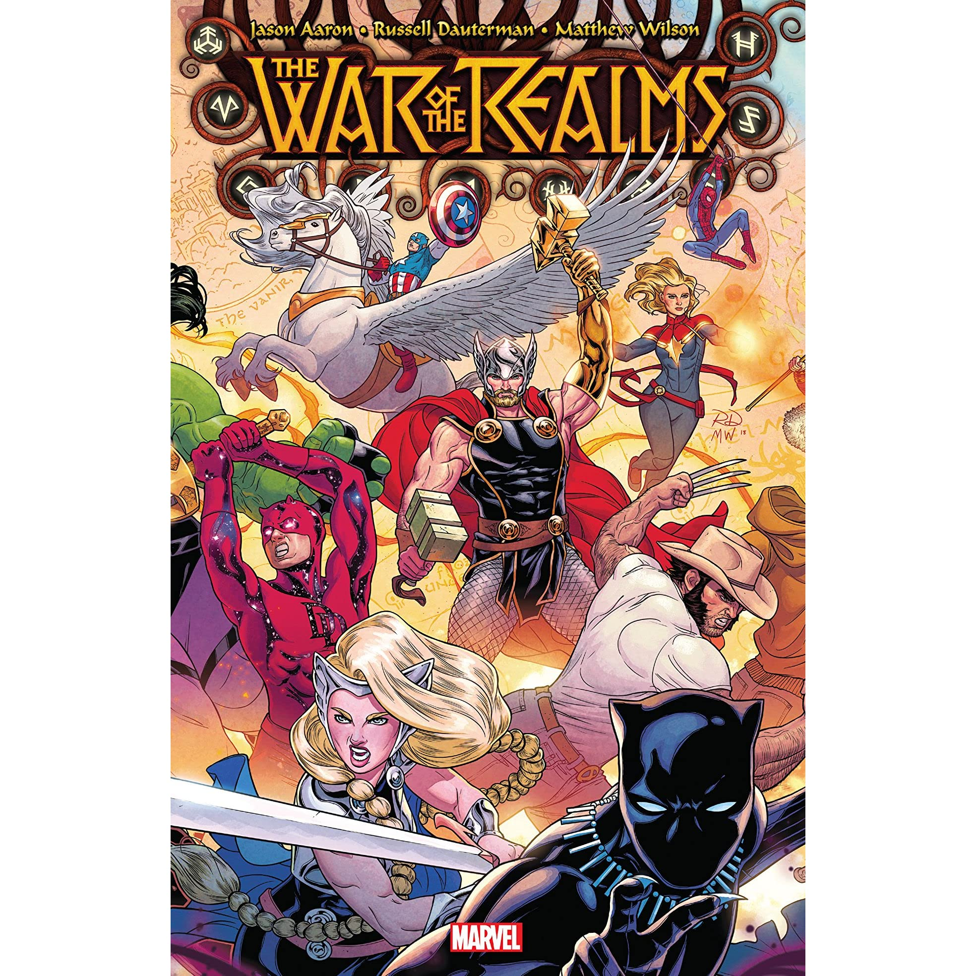 War of the Realms 1-6 Complete Comic Lot Run Set Thor Marvel Mixed Covers 2