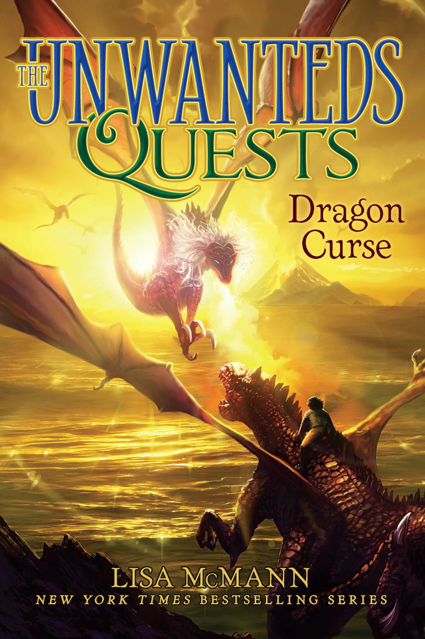 Dragon Curse (The Unwanteds Quests, #4)