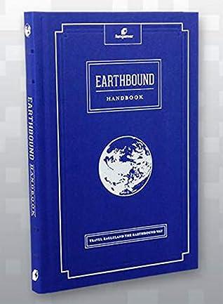 Travel Eagleland the EarthBound Way Guide Hardcover Handbook