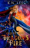 Quest for Dragon's Fire: A Young Adult Epic Fantasy Adventure (Titan Academy for Mages Book One 1)