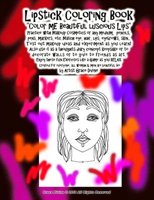 Lipstick Coloring Book