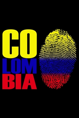 Colombia: Notebook (Journal, Diary) for Colombians - 120 lined pages to write in