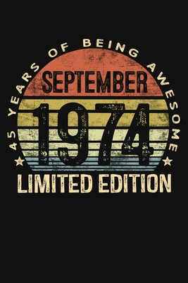 September 1984 Limited Edition 35 Years of Being Awesome: Thirty Five 35th Birthday Gifts Blank Lined Notebook 35 Yrs Old Bday Present Mom Dad Turning 25 Born In 1984 Anniversary Diary Thirty Fifth B-Day