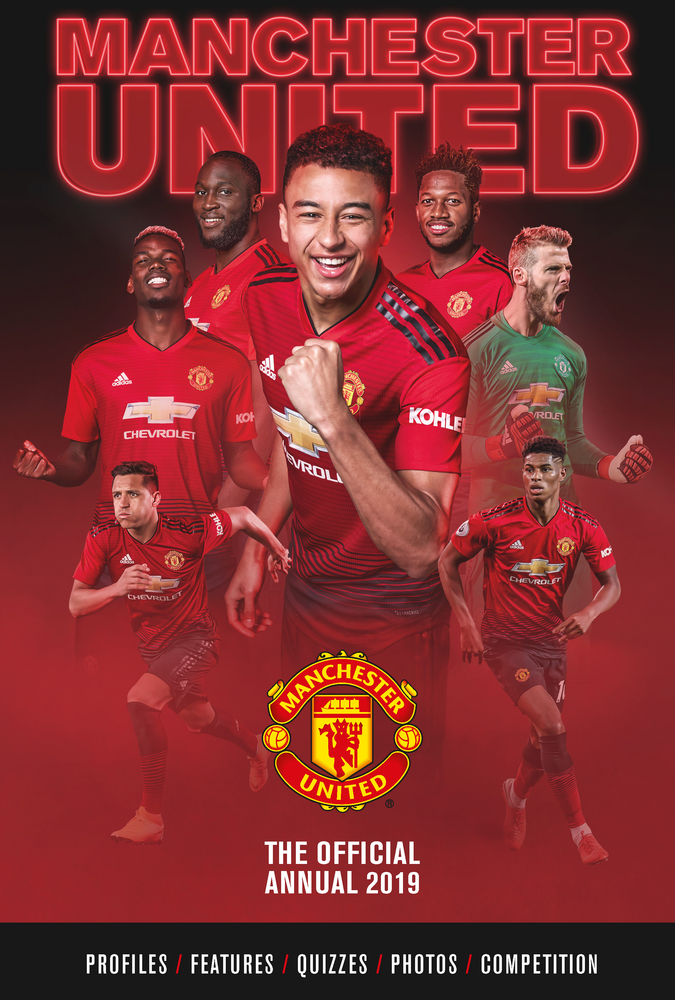The Official Manchester United Annual 2020 By Steve Bartram