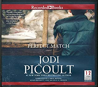 Perfect Match by Jodi Picoult Unabridged CD Audiobook
