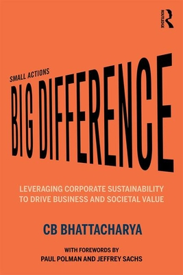 Small Actions, Big Difference: Leveraging Corporate Sustainability to Drive Business and Societal Value