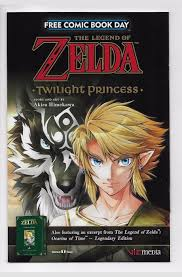 The Legend of Zelda Twilight Princess (Free Comic Book Day 2017)