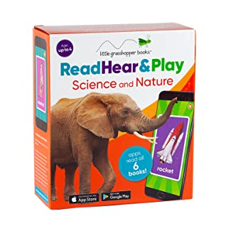 Read Hear  Play: Science and Nature (6 Book Set  Downloadable App!)