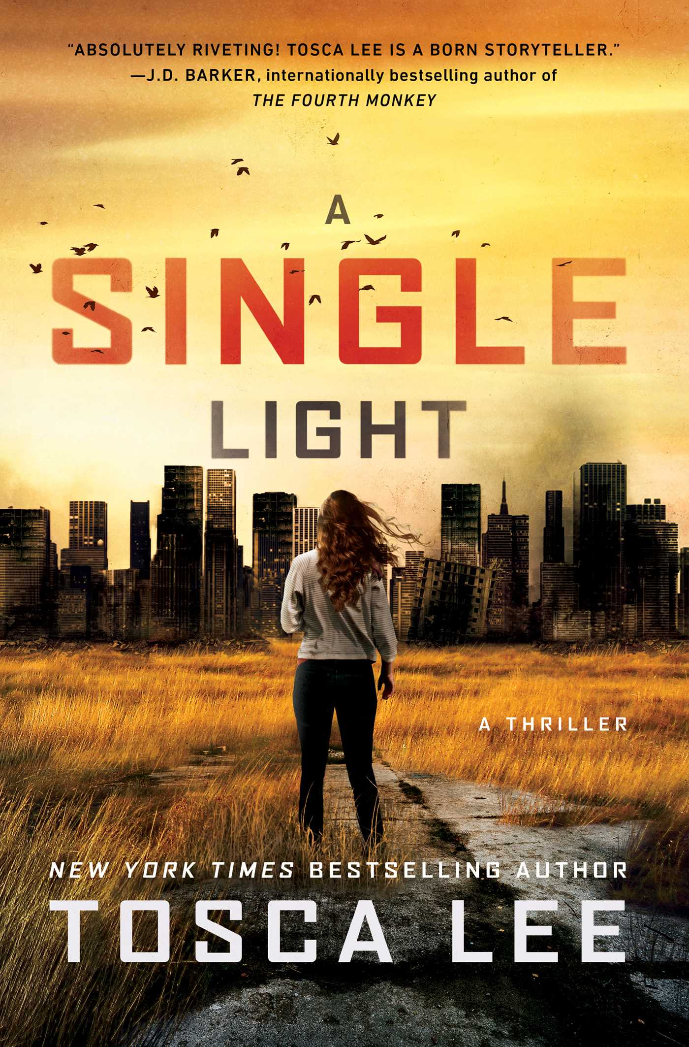 A Single Light (The Line Between #2)