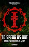 To Speak as One (Warhammer 40,000)