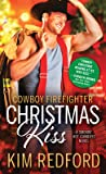 Cowboy Firefighter Christmas Kiss