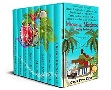 Meows and Mistletoe (Cat's Paw Cove #4)