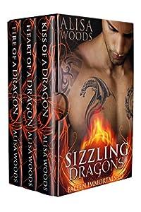 Sizzling Dragons Box Set (Kiss, Heart, Fire: Books 1-3 of the Fallen Immortals Series)