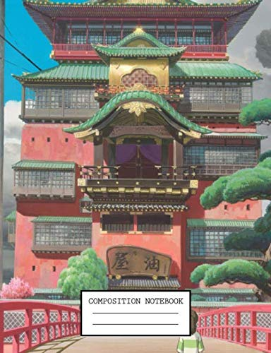 Composition Notebook Kawaii Spirited Away No Face Japan Anime School Supplies Journal 7 5 X 9 25 In 110 Pages By Japanese Anime