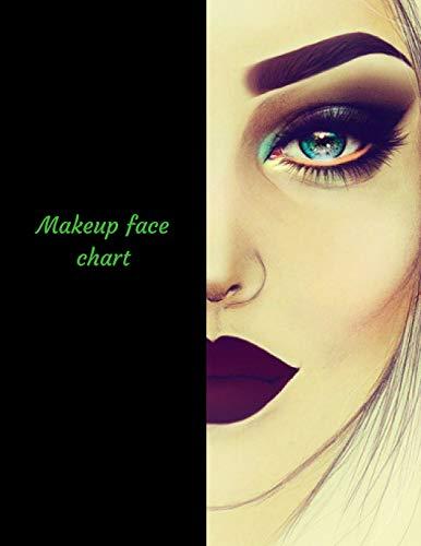 Makeup Face Chart A Blank