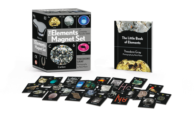 The Elements Magnet Set With Complete Periodic Table By Theodore