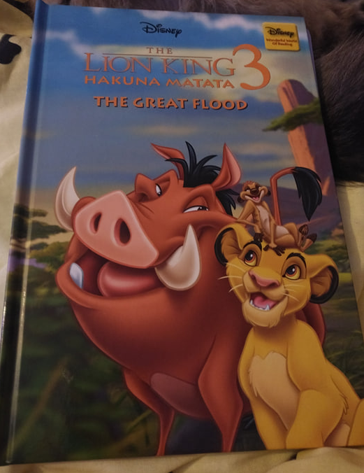The Lion King 3 Hakuna Matata The Great Flood By Hachette Partworks Ltd