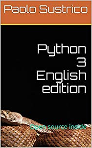 Python 3 English edition: Open source inside
