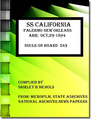 SS CALIFORNIA-PALERMO-NEW ORLEANS-oct-1894-SOULS 549