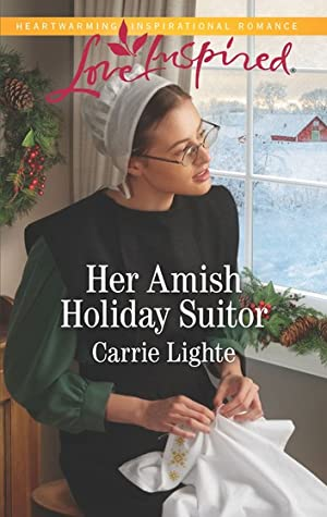 Her Amish Holiday Suitor (Amish Country Courtships #5)