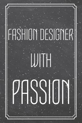 Fashion Designer With Passion Fashion Designer Dot Grid Notebook Planner Or Journal Size 6 X 9