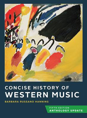 Concise History of Western Music: Anthology Update