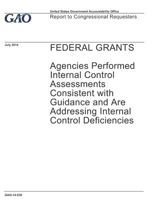 Federal Grants: Agencies Performed Internal Control Assessments Consistent with Guidance and Are Addressing Internal Control Deficiencies