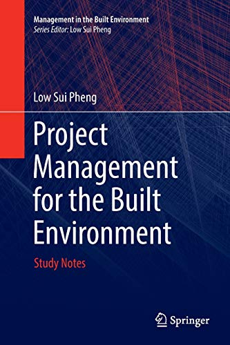 Project Management for the Built Environment Study Notes