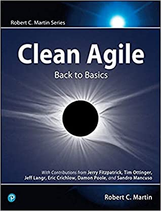 Book Cover - Book Review: Clean Agile: Back to Basics