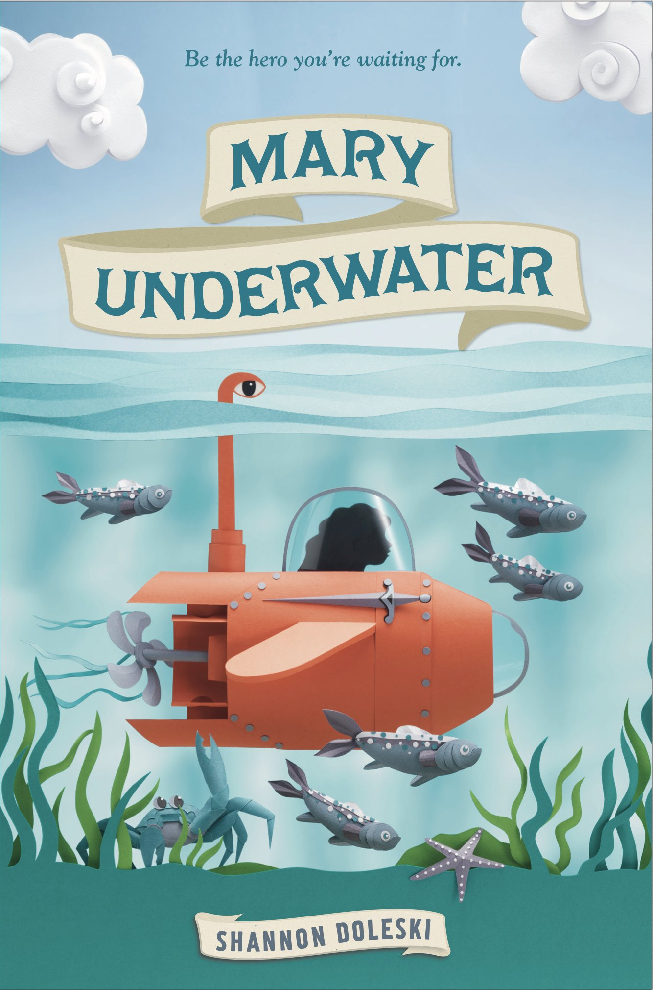 Mary Underwater by Shannon Doleski