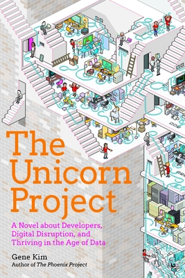 book cover for The Unicorn Project by Gene Kim